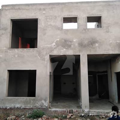 3 Marla Grey Structure Ready Houses 15 Lac
