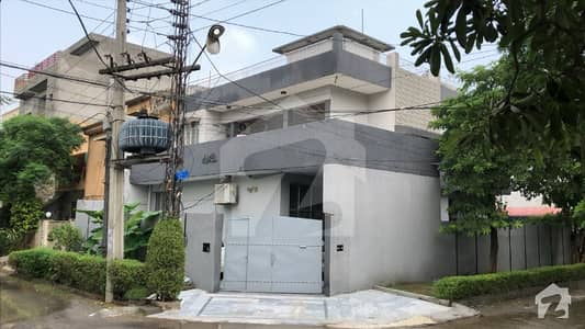12 Marla Corner Brand New Type Facing Park House For Sale At Very Reasonable Price