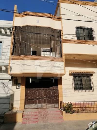 گلشنِ معمار - سیکٹر آر گلشنِ معمار گداپ ٹاؤن کراچی میں 4 کمروں کا 5 مرلہ مکان 1.1 کروڑ میں برائے فروخت۔