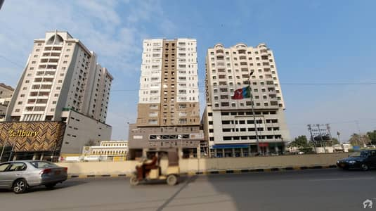 4 Bed Flat Is Up For Sale In Roshan Haven On Shaheed Millat Road