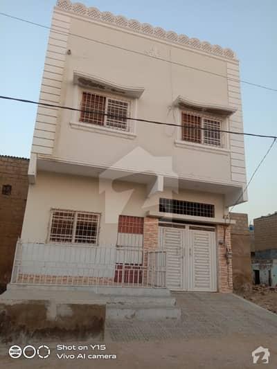 اللہ والا ٹاؤن کورنگی کراچی میں 3 مرلہ مکان 75 لاکھ میں برائے فروخت۔