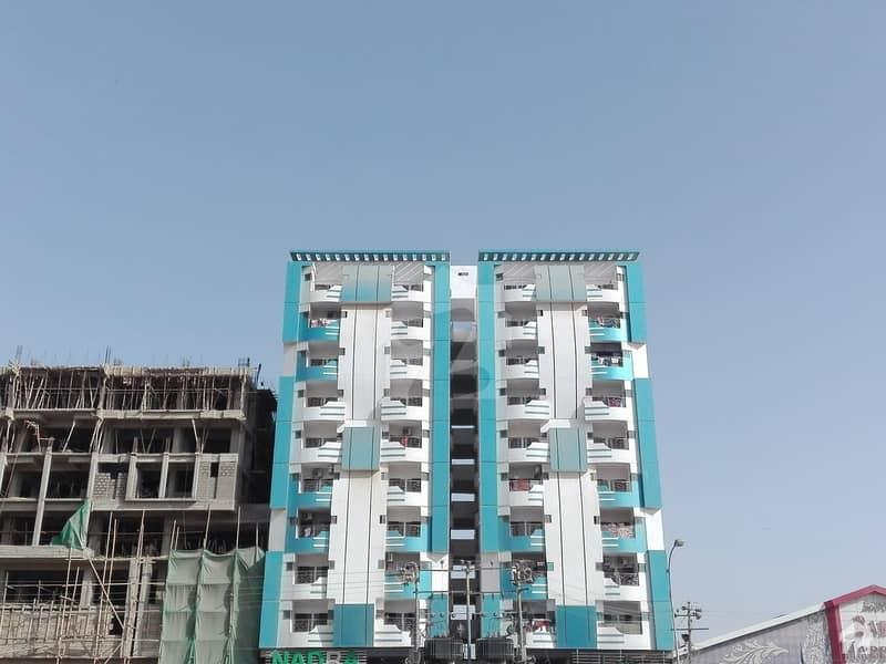 نارتھ ناظم آباد ۔ بلاک ایل نارتھ ناظم آباد کراچی میں 2 کمروں کا 4 مرلہ فلیٹ 35 ہزار میں کرایہ پر دستیاب ہے۔
