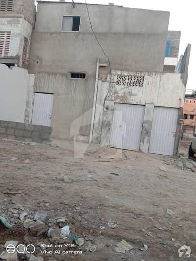 اللہ والا ٹاؤن کورنگی کراچی میں 2 مرلہ مکان 50 لاکھ میں برائے فروخت۔