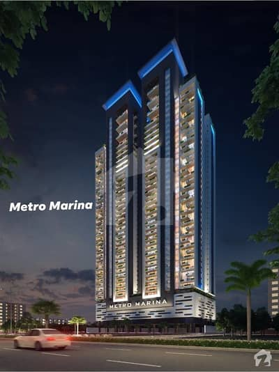 Metro Marina 2bedroom Drawing Dinning Lounge Apartment In Under Construction