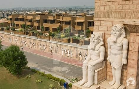 New Deal Open Form 5marla Commercial With Map Plot On Easy Installment Plan For Sale Bahria Town Lahore