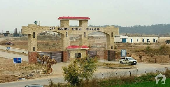 Ideally Located Plot On Main Boulevard Road 600 Sq Yard Available For Sale In Opf Valley Islamabad