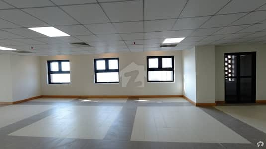 1600 Square Feet Office Situated In Jinnah Avenue For Rent