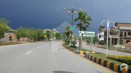 Sector O 5 Marla Good Location Residential Plot For Sale In Bahria Enclave Islamabad