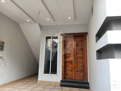 5 Marla  Brand New Luxuries House Available For Rent At Security Area