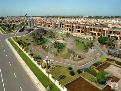 8 Marla Main Boulevard Commercial Plot For Sale In Bahria Town Lahore