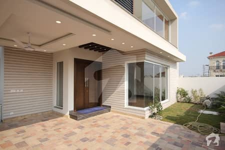 Brand New Mazher Muneer Designer Bungalow With Basement Near To Park And Commercial  In Dha Phase 6