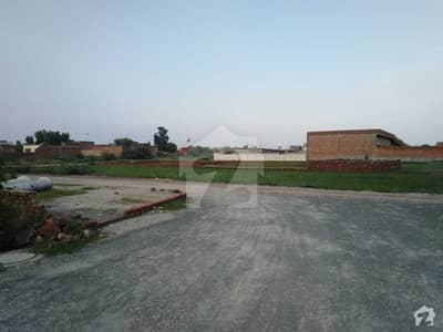 8 Marla Residential Plot For Sale In Rana Town
