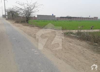 بیکن ہاؤس سوسائٹی لاہور میں 16 کنال زرعی زمین 6.4 کروڑ میں برائے فروخت۔