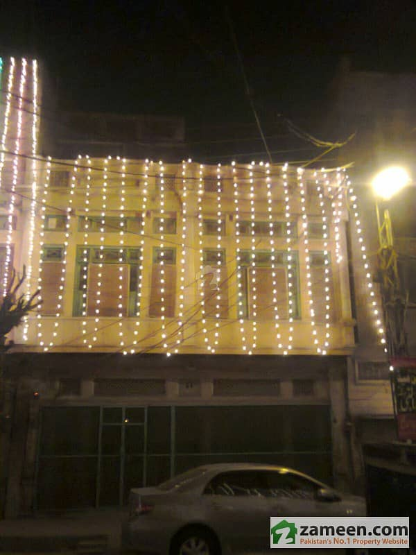 5 Marla Double Storey Double Sided House Of Sale In Saddar Bazar Commercial Zone
