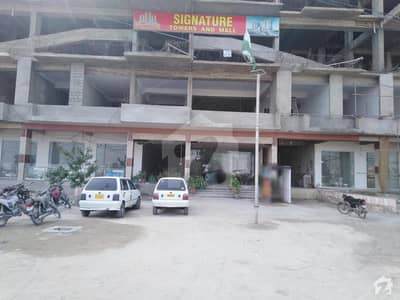 472 Sq Feet New Shop Available For Sale In Easy Installments At Signature Tower Opposite Rajputana Hospital Hyderabad