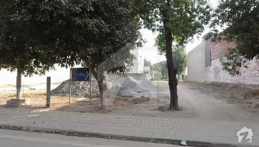 Corner Plus Main Boulevard 10 Marla Plot for Sale On Instalment
