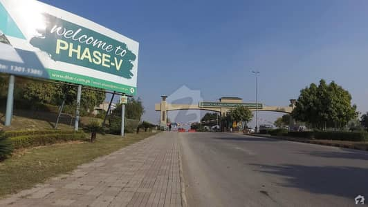 1 Kanal Residential Plot Is Available For Sale Sector B Dha Phase 5 Islamabad