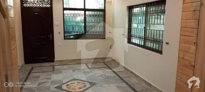 7 Marla Ground Portion Is Available For Rent In Cbr Town Islamabad