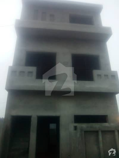 3 Marla Triple Storey Grey Structure House For Sale In Vital Homes Ee