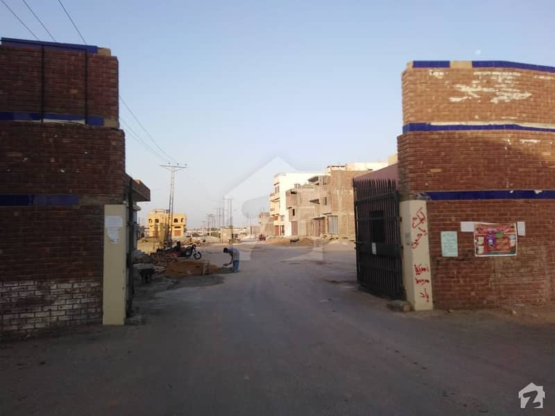 120 Yard Residential Plot For Sale In Qadir Avenue Hala Naka Hyderabad bypass