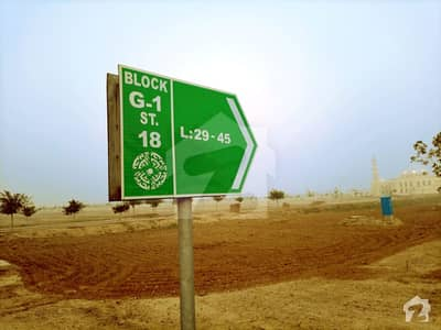 20 Marla Possession Paid Utilities Paid Plot In G1 Bahria Orchard Phase 4 50 Feet Road