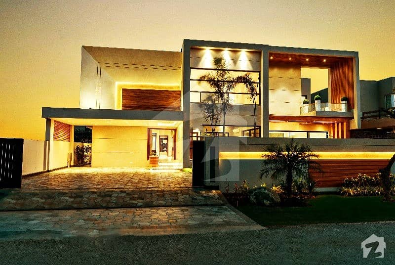 2 Kanal Mazhar Munir Design Bungalow With Swimming Pool For Sale In Phase 3