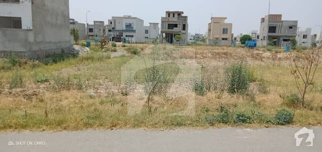 10 Marla Residential Plot On Ideal Location In 9 Town Block A