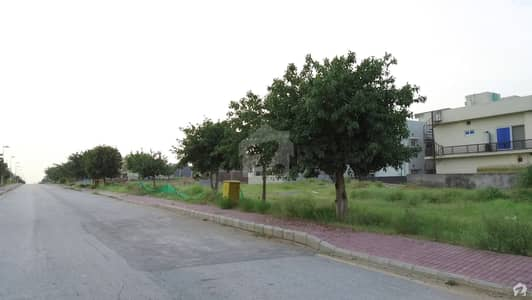 1 Kanal Corner Out Standing Location Plot Sector B Dha 2 Islamabad