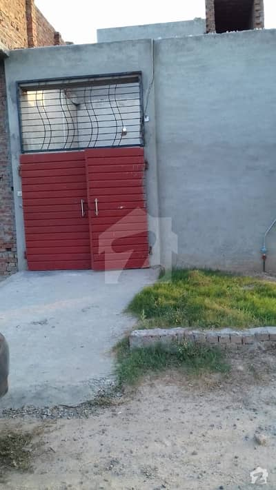 2.5 Marla Double Storey House For Sale In Waheed Garden Fsd
