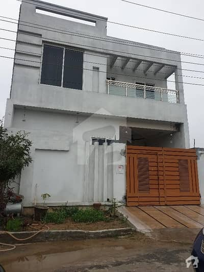 Double Storey Facing Park 5 Marla House For Sale In Gujranwala Prime City