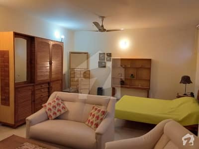 Fully Furnished Studio Basement Is Available For Only Foreigner F-8