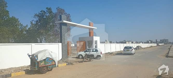 Residential Plot Of 120 Square Yards Is Available For Sale