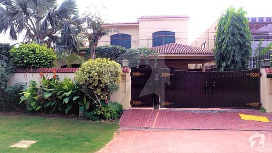 Spanish Style One Kanal Luxury Villa Available On Rent Gift For Phase 4 Lover Once Visit