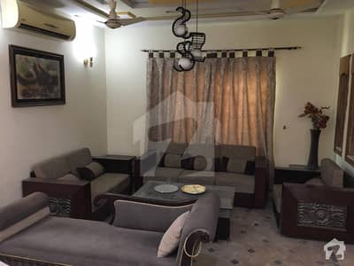 10 Marla Luxury Fully Furnished House Available For Rent In Bahria Town Lahore