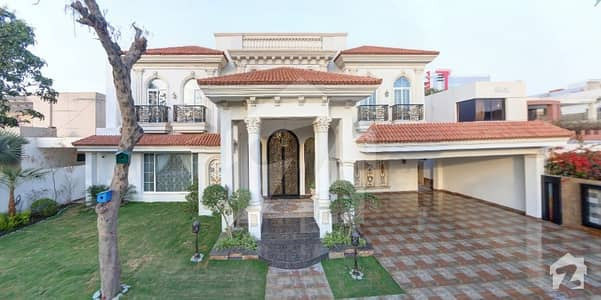 2 Kanal Corner House Spanish Design By Faisal Rasool With Swimming Pool And Home Theatre