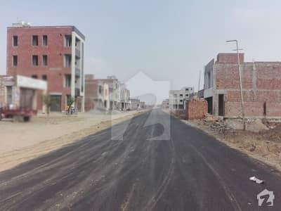 4 Marla Plot With Possession At Main Boulevard Pak Arab Society