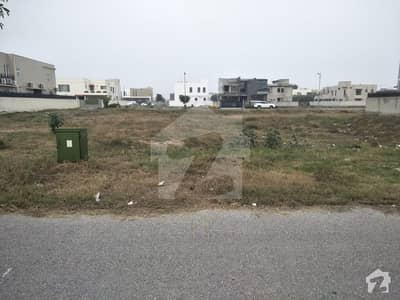 HOT Location 100 Feet Road Two Side Open Plot For Sale Phase 8 DHA Lahore