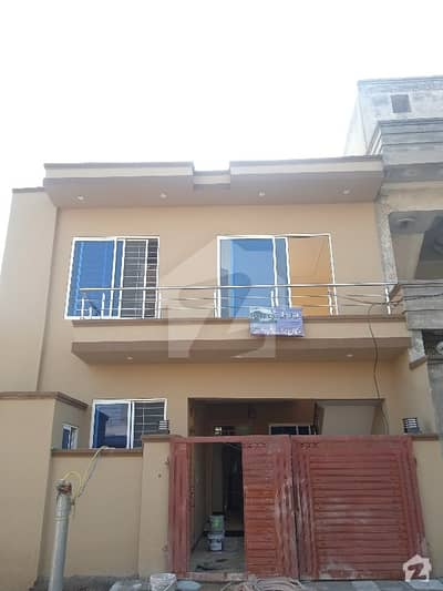 5 Marla One And Half Storey House For Sale At Airport Housing Society Sector 4