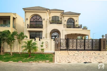 Splendid Design 1 Kanal Brand New Bungalow Magnificent Front Elevation In Dha Phase 5 For Sale