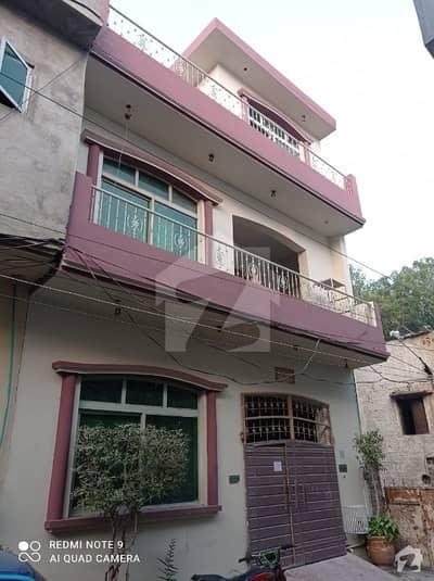 5 Marla Half Triple Storey House For Sale In Hussain Park Harbanspura Lahore