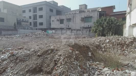 In Gulberg Commercial Plot Sized 2.5 Kanal For Sale