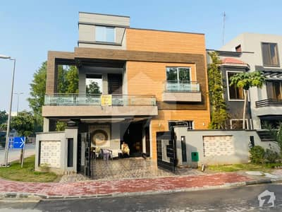 Brand New 10 Marla Corner House Is Available For Sale In Overseas B
