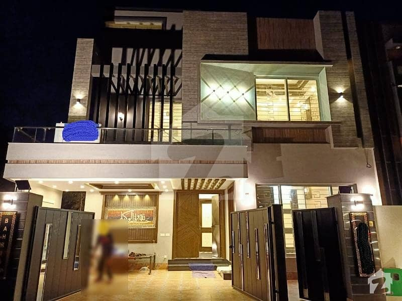 10 Marla Brand New Beautiful And Well Constructed And Designed House At Ideal Location Is Available For Sale In Jasmine Block