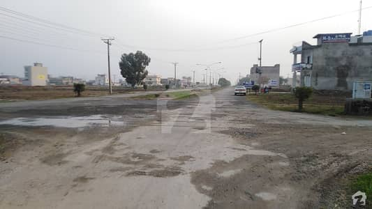 6 Marla Pair Corner Commercial plot for sale in Chinar Bagh prime location with 100 ft front demand 170 lac