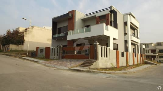 Brand New 14 Marla Park Face Corner House Is Available For Sale In Zaraj Housing Society Islamabad