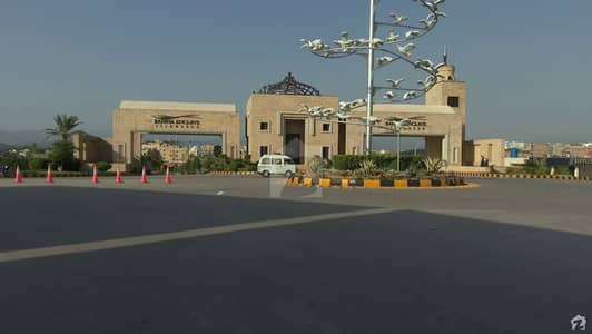 Semi Develop Main Boulevard Plot For Sale In Sector N  Bahria Enclave Islamabad