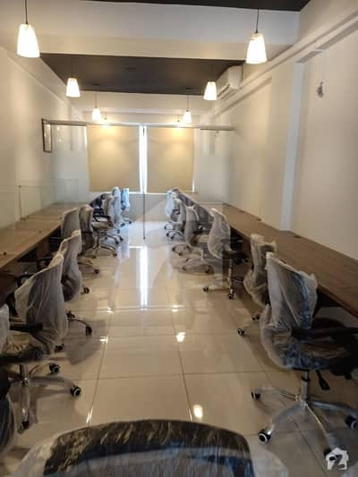 Defence Phase 5 Brand New Furnished Office For Sale Handsome Rental Income