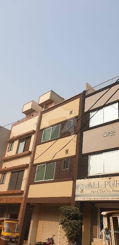 Two Sided Open Double Storey 4 Marla Commercial  Plaza For Sale