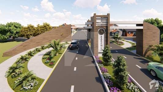 سرموکو گارڈن سرگودھا میں 5 مرلہ رہائشی پلاٹ 32.5 لاکھ میں برائے فروخت۔