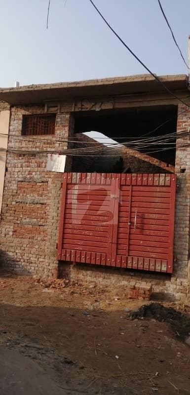 سبزی منڈی روڈ جھنگ میں 2 کمروں کا 4 مرلہ مکان 25 لاکھ میں برائے فروخت۔